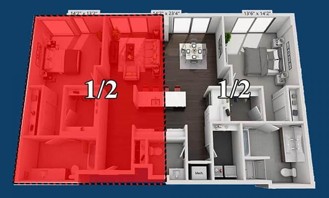 Получение кредита под залог доли в квартире: быстро, просто, без поручителей